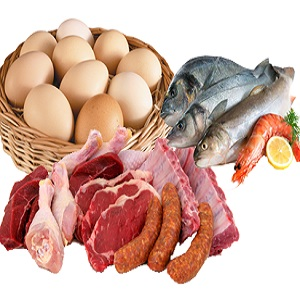 Eggs, Meat & Fish