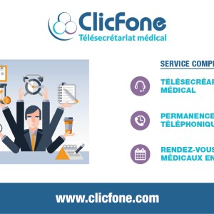 ClicFone Secrétariat téléphonique Tarbes