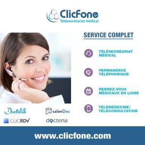ClicFone Télésecrétariat