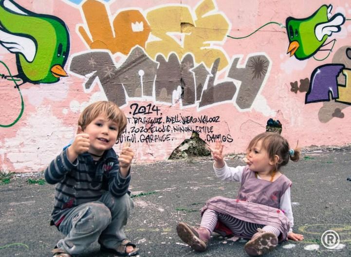 Wild Bird family - France - 2014