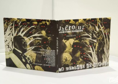Conception et fabrication de CD | Jheroluz – La Mélodie de darwin