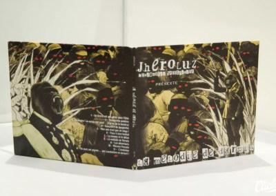 Conception et fabrication de CD | Jheroluz – La Mélodie de darwin