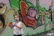 Welcome Coline - Graffiti Mural Chambéry - 2015-29