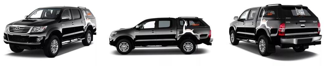 Marquage voiture Conception graphique - Cliche® 2015