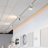 Leuchtenspot Kalu Track für 3 Phasen HV Stromschiene inkl ...