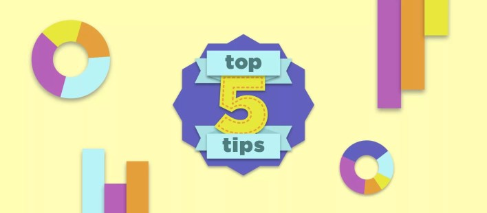 top 5 tips for creating infographics - click consult