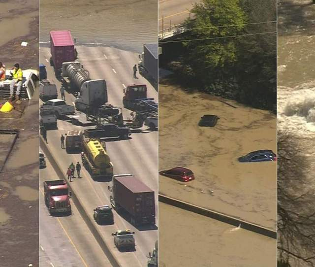 These Videos Show The Impact Of Water Main Break That Flooded East