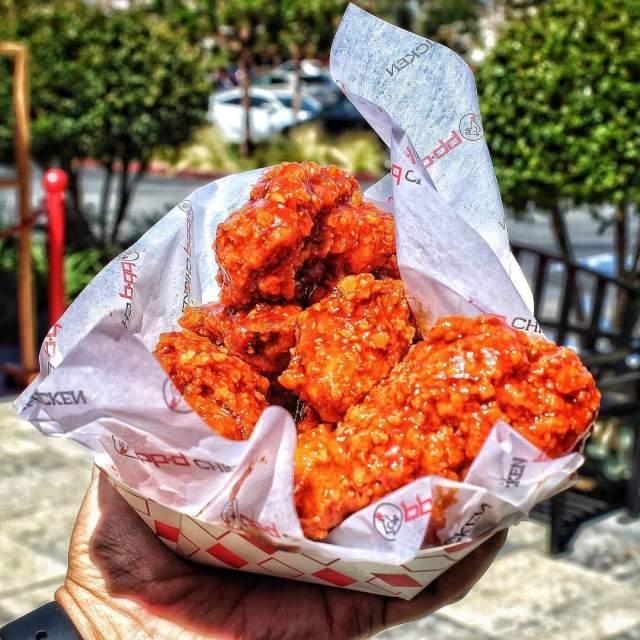 Secret Spicy Chicken Wings