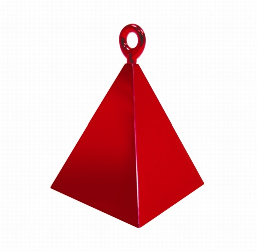 Red Measurements Pyramid