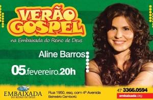 VERAO GOSPEL 2011  flyer final Aline