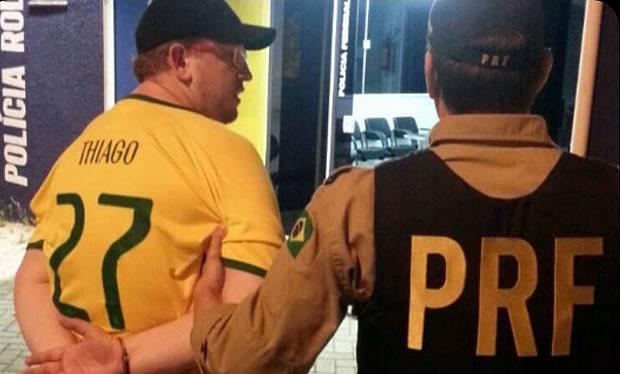 Motorista é preso por direção perigosa em Itajaí