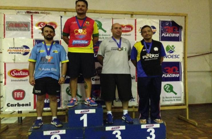 atletas itajai de Tênis de Mesa