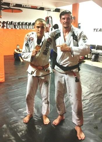 Atleta de Navegantes defende título no Campeonato Brasileiro de Jiu jitsu