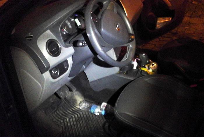 condutor preso por embriaguez