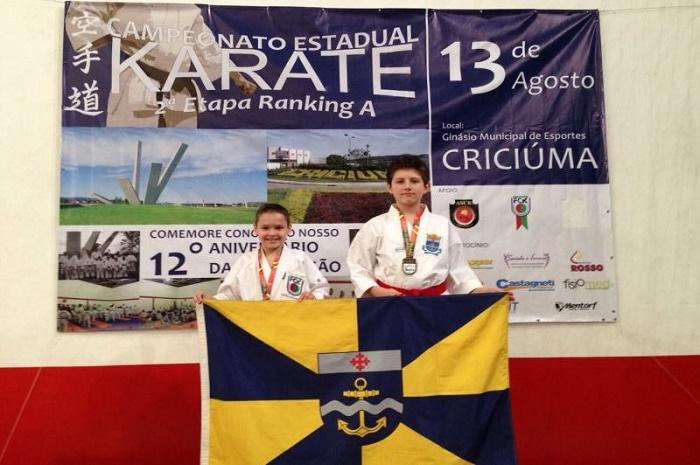 Itajaí é destaque na II Etapa do Campeonato Catarinense de Karate