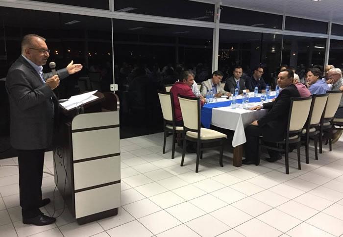 reunião Volnei Morastoni Intersindical