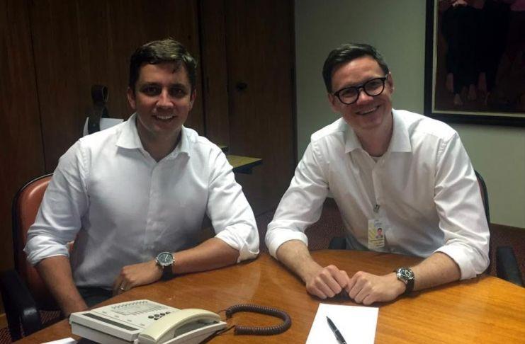 Fabricio Oliveira e Cleverson Siewert