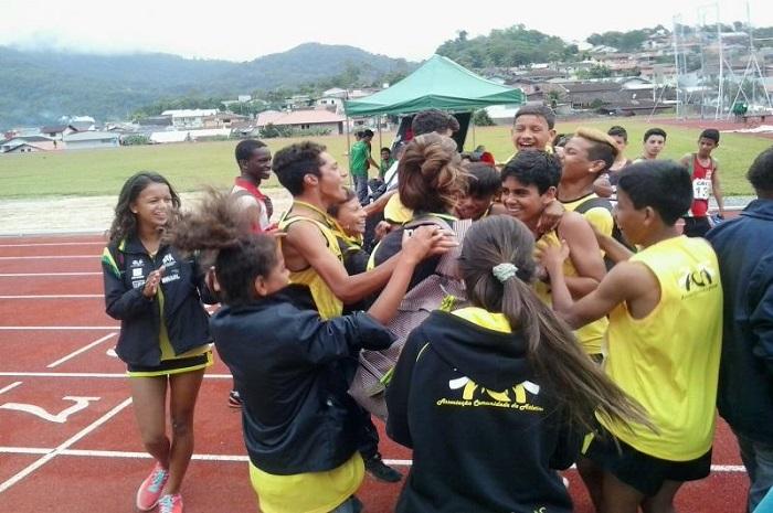 Itajaí conquista 15 medalhas no Estadual de Atletismo Sub 16 e Sub 14