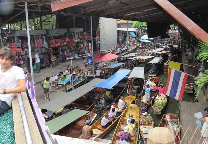 Mercado flutuante1
