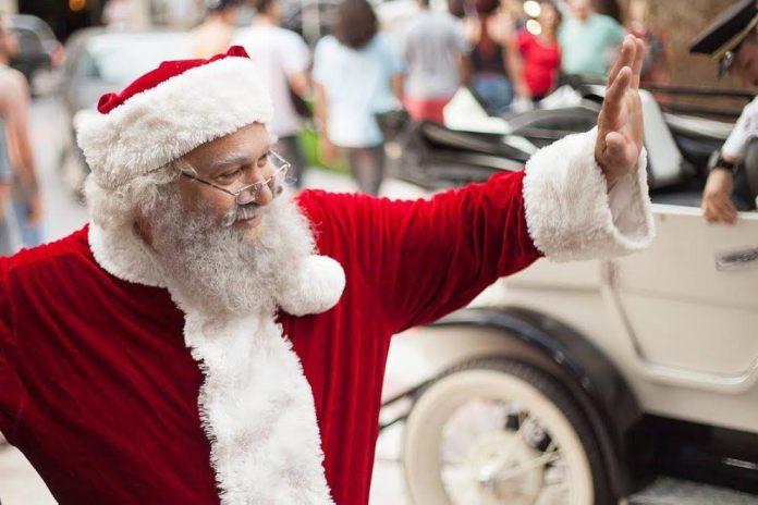 Papai Noel do Atlântico Shopping (divulgação)