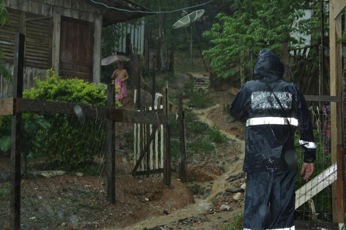 Defesa Civil atua na prevenção de deslizamentos