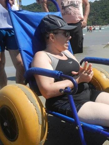 cadeira anfibia