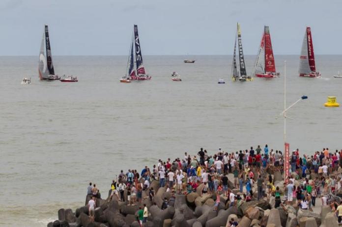 Volvo Ocean Race em Itajaí