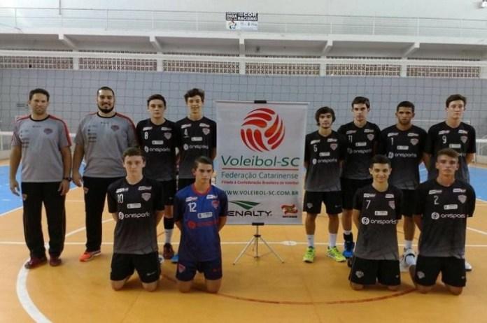 Itajaí termina etapa do Campeonato Estadual Infanto Juvenil de Vôlei em terceiro lugar