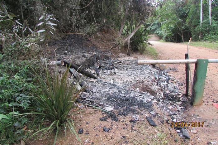 Parque da Atalaia é alvo de vandalismo