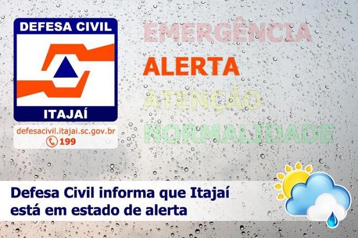 alerta defesa civil itajai