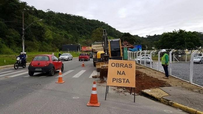 Requalificação da Av. Santa Catarina entra em uma nova fase