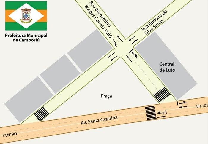 Trânsito tem alterações próximo à Central de Luto