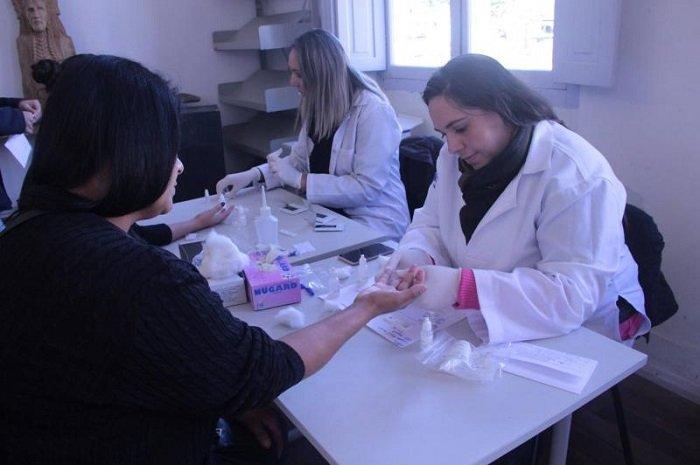 Vigilância Epidemiológica realiza mais de 150 testes rápidos em ação preventiva