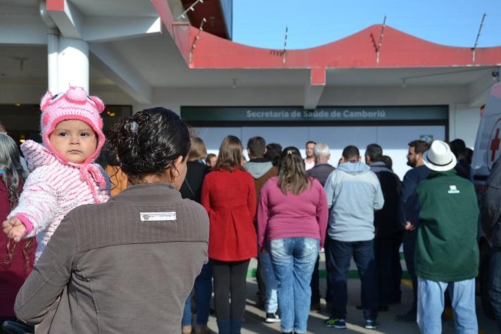 Comunidade da Várzea do Ranchinho comemora a inauguração de Unidade Básica de Saúde