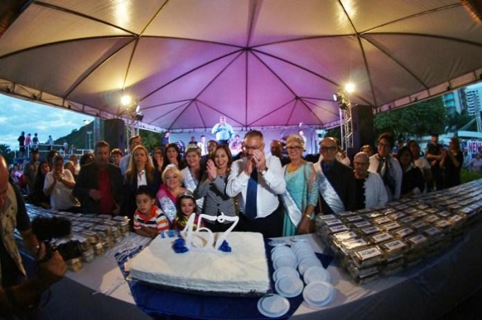 Organização do aniversário de Itajaí apresenta balanço do mês de festividades