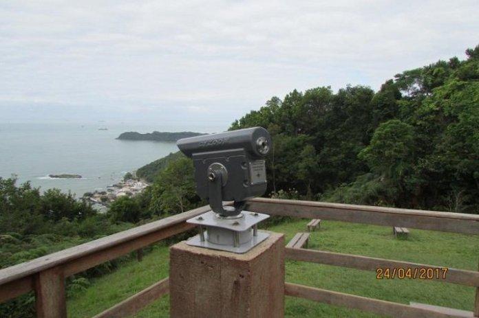 Luneta de observação é furtada do Parque do Atalaia