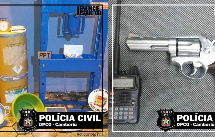 PRISÃO DE NARCOTRAFICANTE