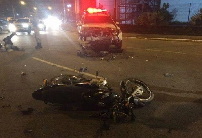 colisao viatura moto