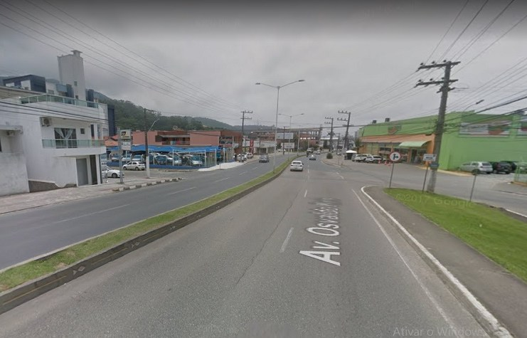 ruas Alcides Pereira e Venezuela itajai osvaldo reis
