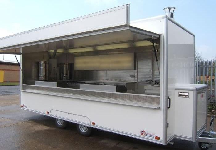 trailer de fast food