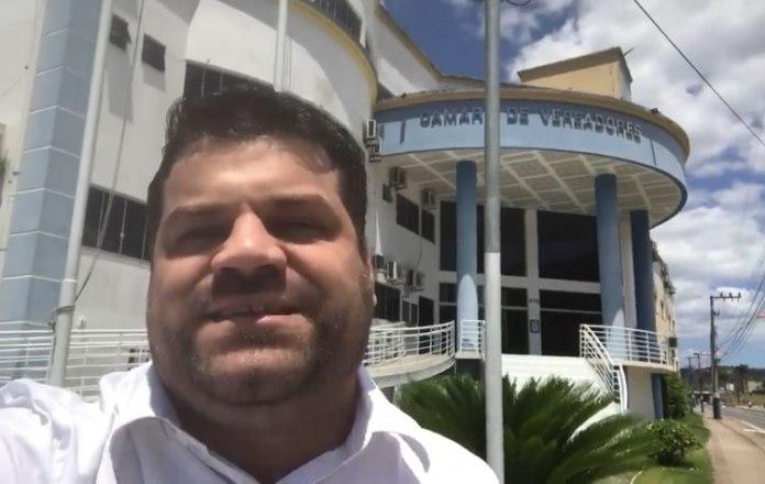 Vereador Leonardo Piruka