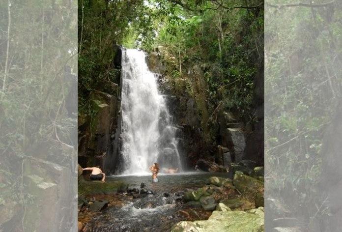 cachoeira seca