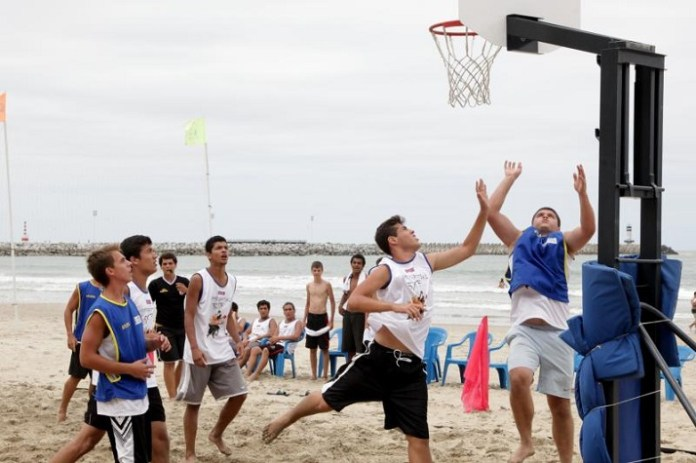 basquete praia Itajaí