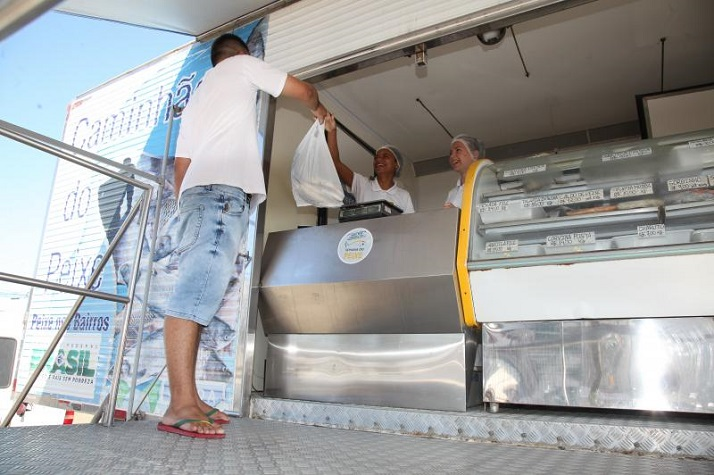 Caminhão do Peixe itajai