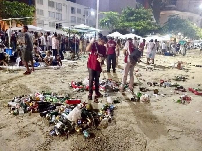 Limpeza Praia Divulgação 3