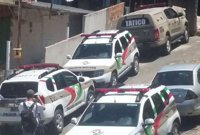 confronto policial