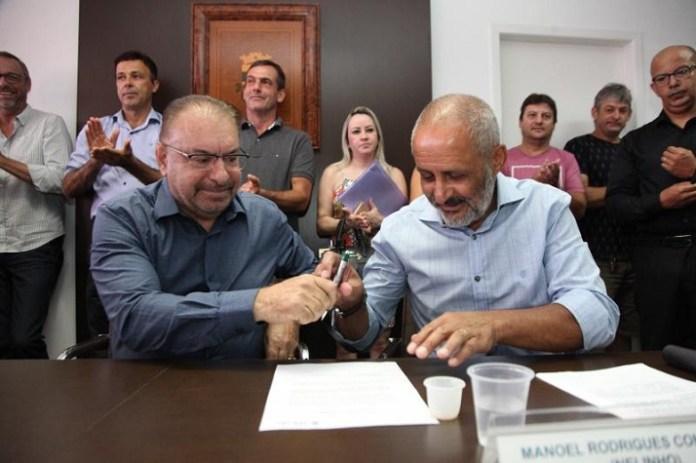 Empossado o novo chefe de gabinete do prefeito de Itajaí nelinho
