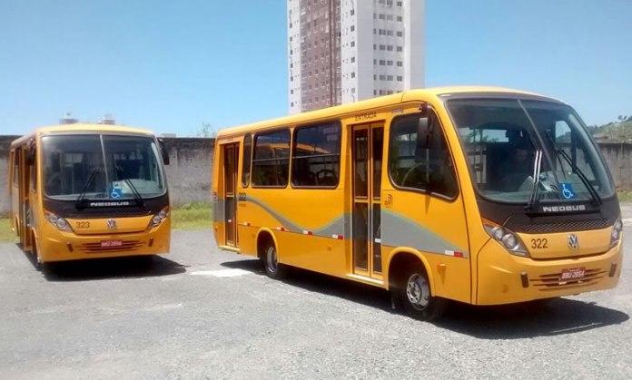 Novos micro ônibus