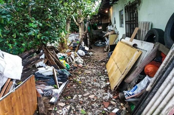 Sala de Situação realiza ação conjunta para eliminar risco de transmissão da dengue no Bairro São Vicente edited