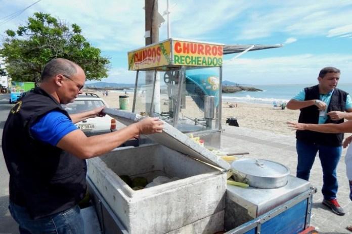 Vigilância Sanitária realiza Operação Verão nas praias de Itajaí